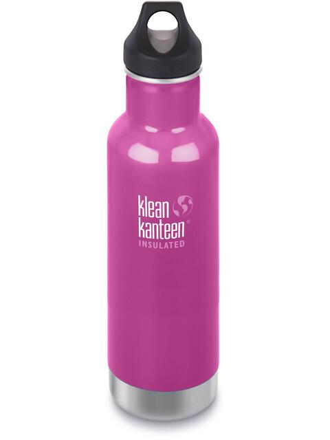 Klean Kanteen Classic Vacuum Insulated Bottle Loop Cap 592ml Wild Orchid